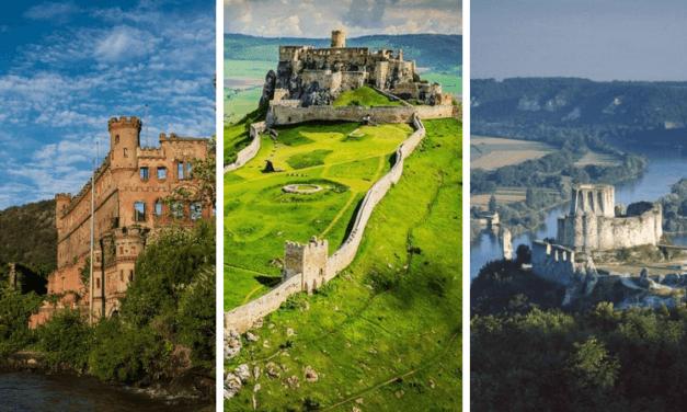 11 заброшенных замков красивых и таинственных