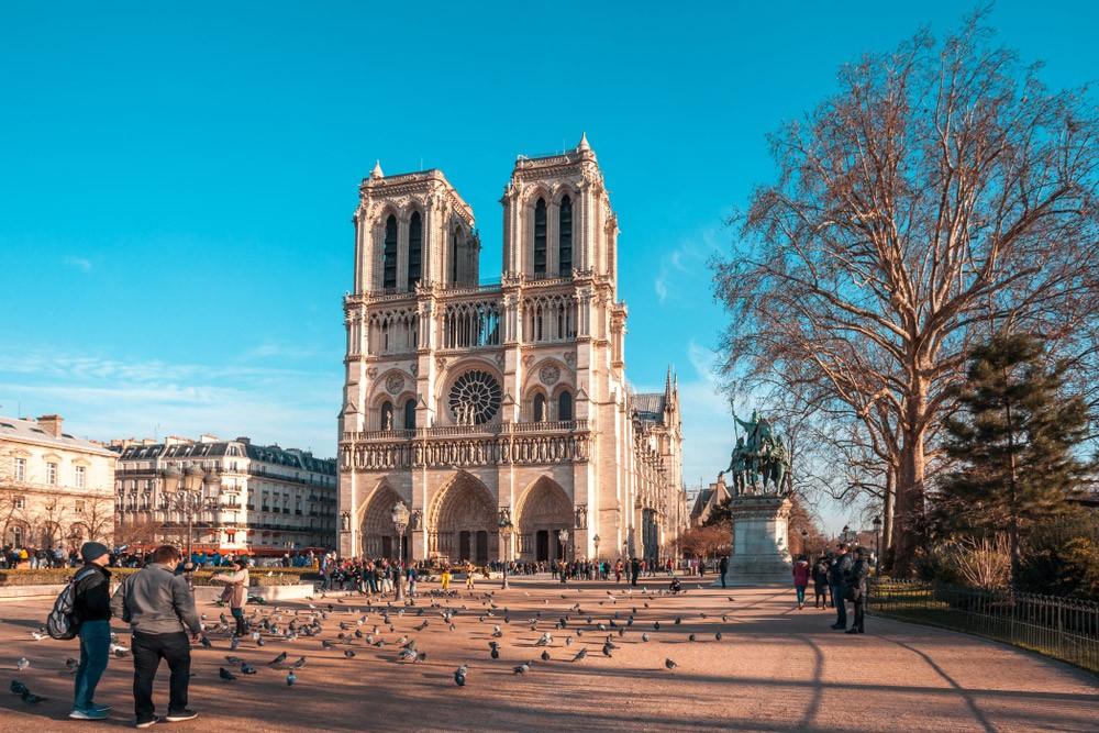 Париж: маршрут на 4 дня-Нотр-Дам