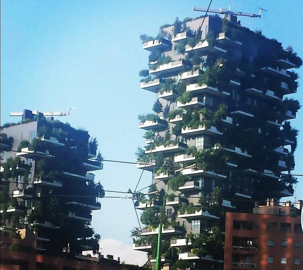Что нельзя пропустить в Милане: Bosco Verticale