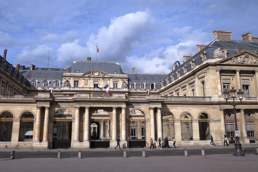 Маршрут короткой поездки в Париж: Пале-Рояль