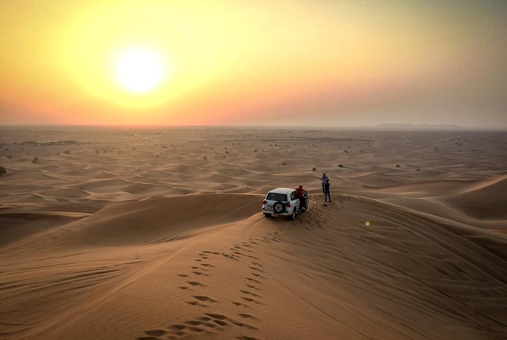 однодневные поездки из Дубая: Dune Bashing