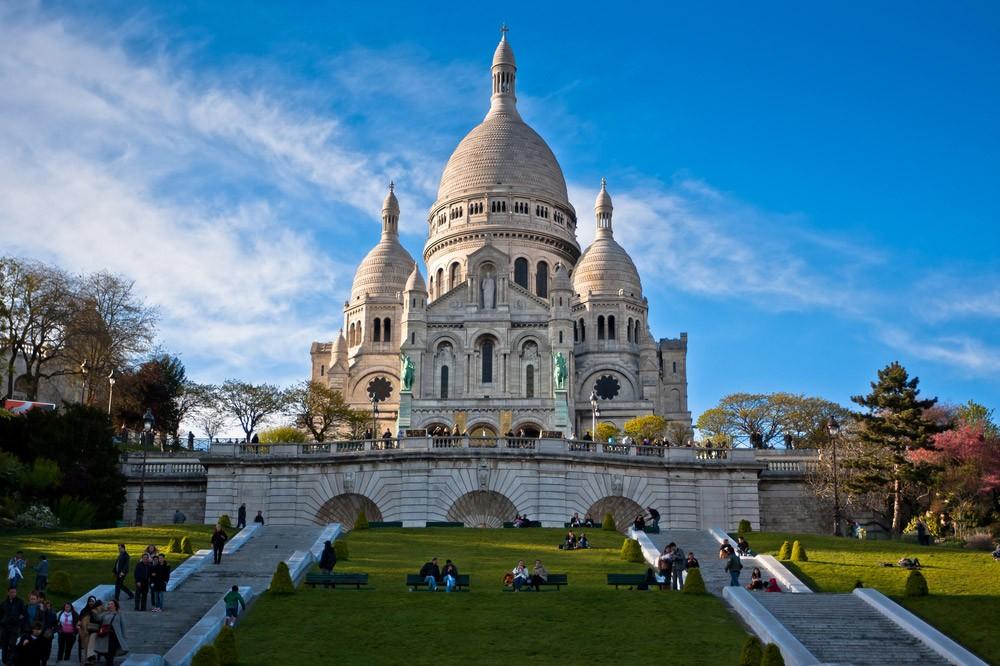 4-дневный маршрут до Парижа, Франция-Сакре-Кер