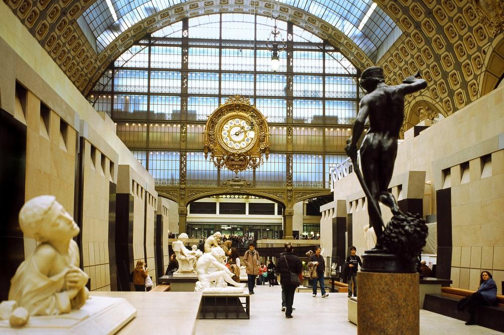 четыре дня в Париже маршрут - музей Д'Орсе