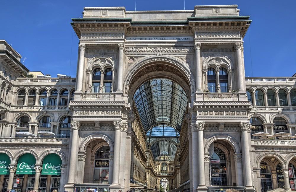 Что нельзя пропустить в городе Милан: галерея Витторио Эммануэль