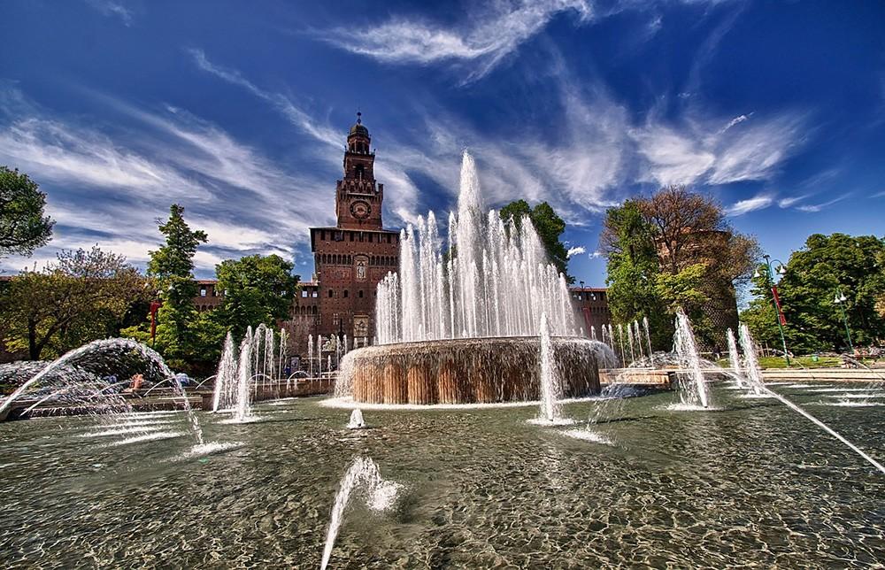 Что нельзя пропустить в городе Милан: Castello Sforzesco