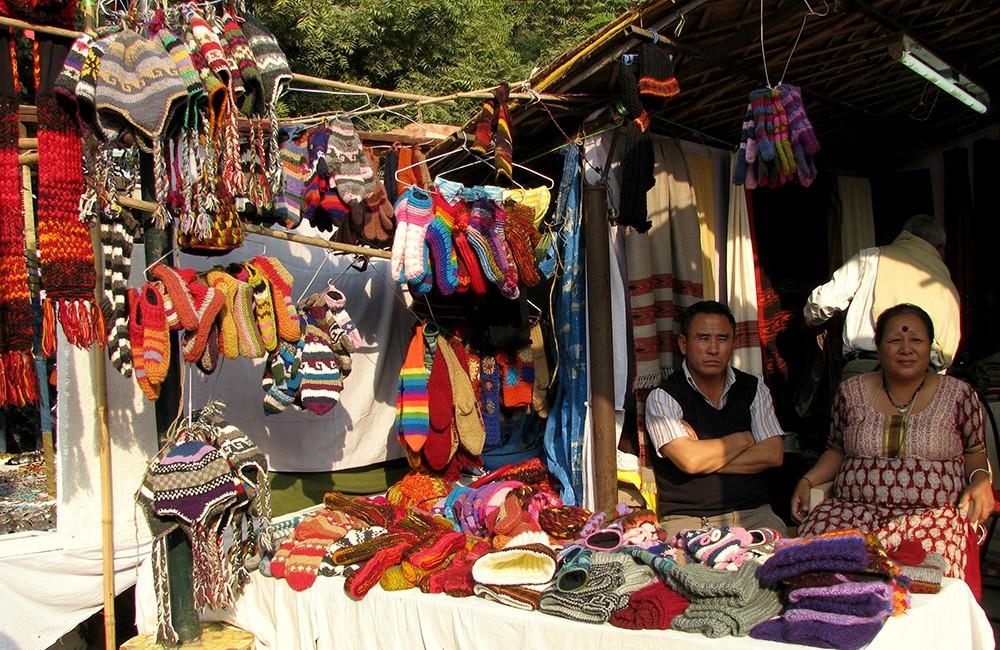 Что посмотреть и чем заняться в городе Дели: Dilli Haat