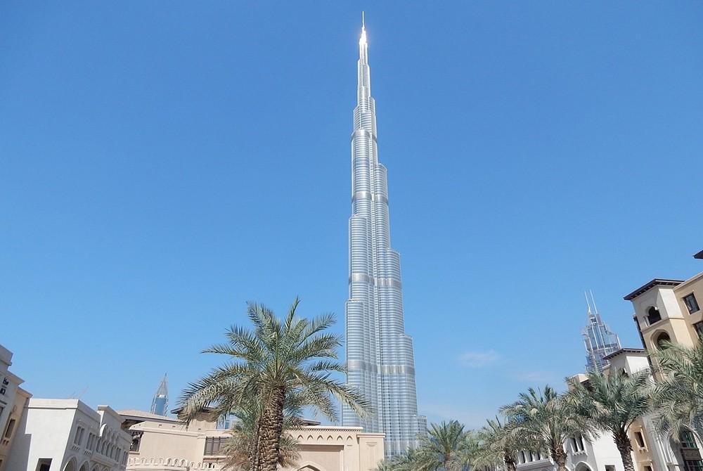 Что посмотреть в Дубае: The Burj Khalifa