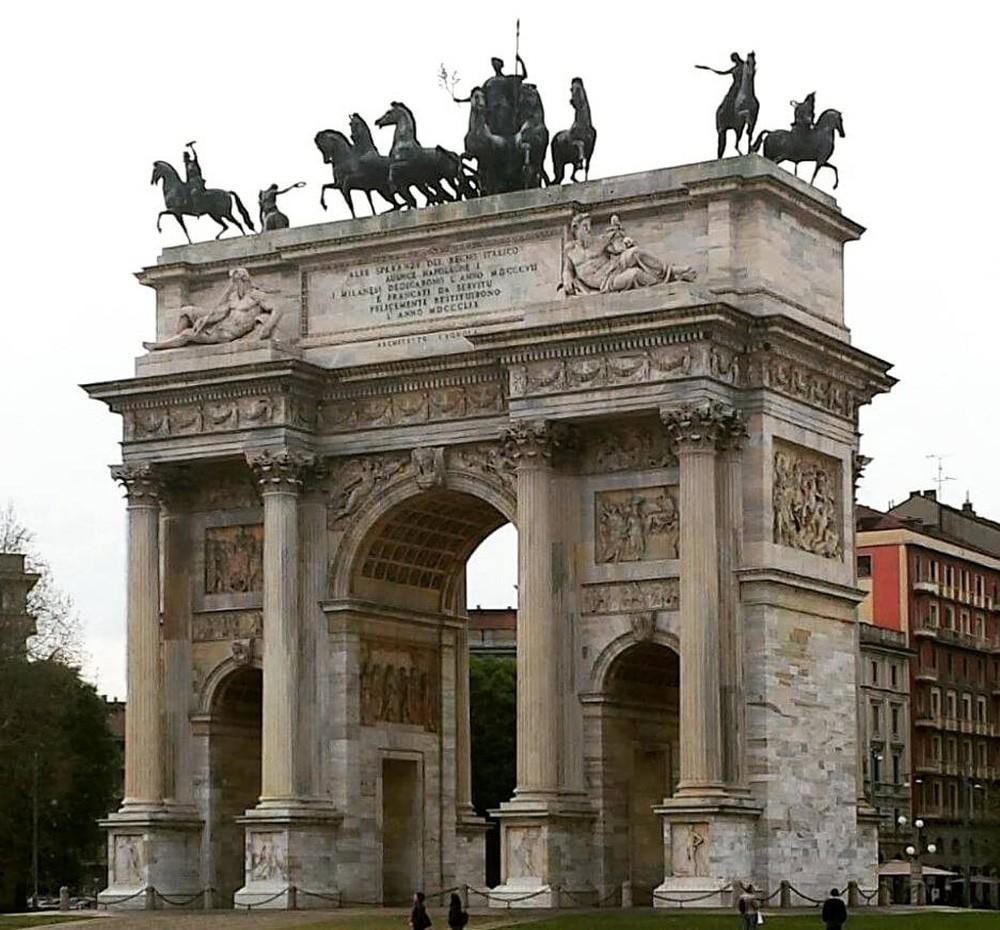 Что нельзя пропустить в Милане: Arco della Pace