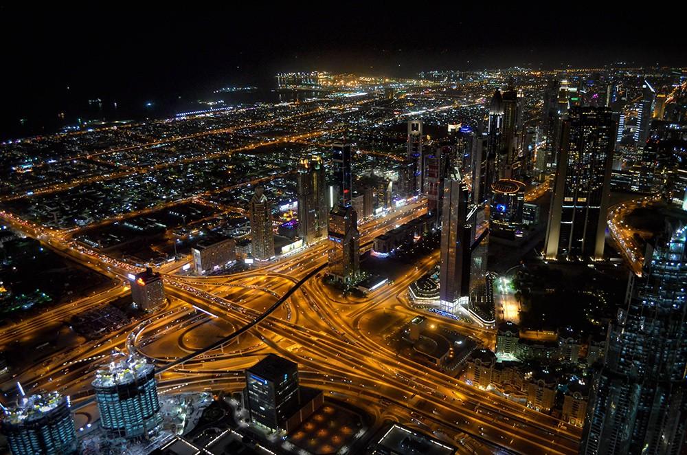 Чем заняться в городе Дубай: насладитесь видом с небоскреба Бурдж-Халифа