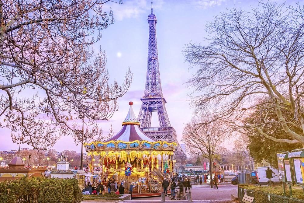 Маршрут по Парижу: четыре дня в Париже-Эйфелева башня