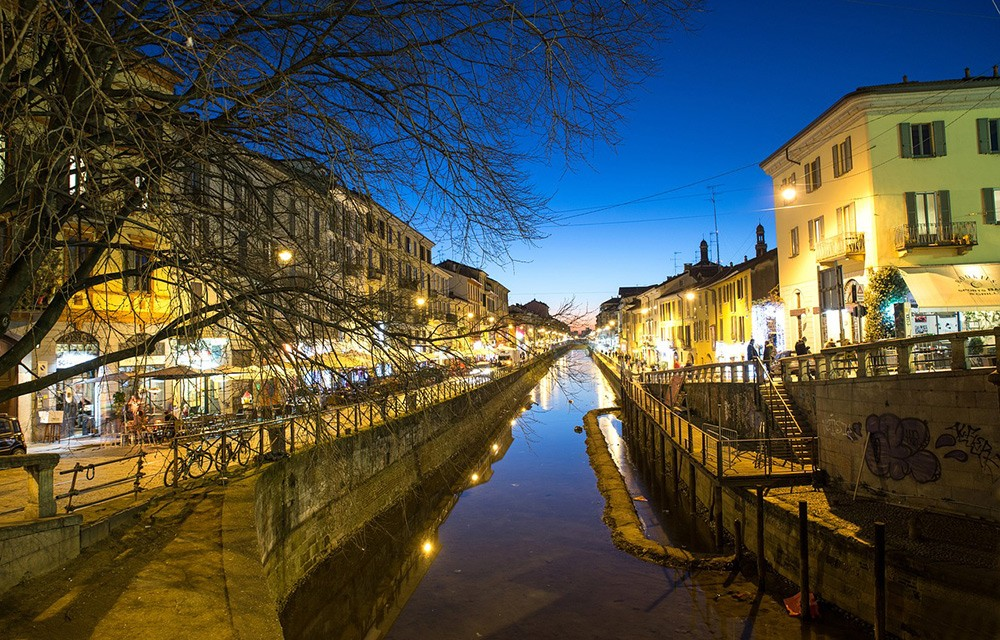 Что нельзя пропустить в Милане: Navigli
