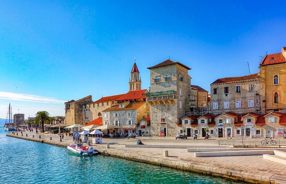 город Трогир, Хорватия
