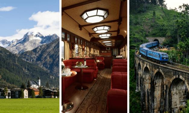 11 самых крутых поездок на поезде в мире