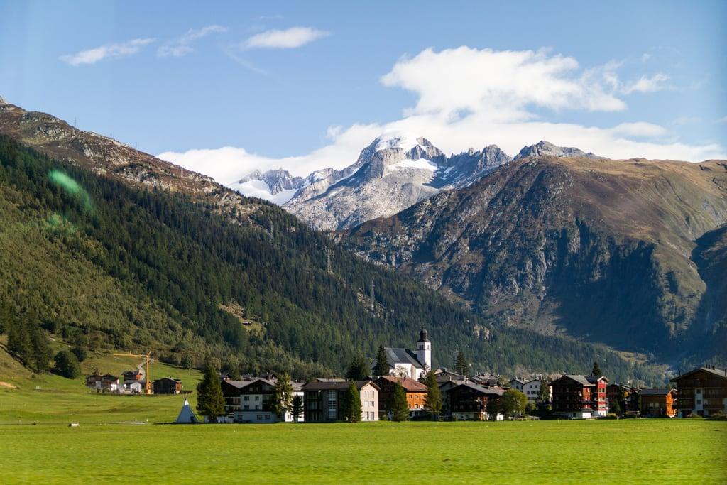The Glacier Express, Швейцария