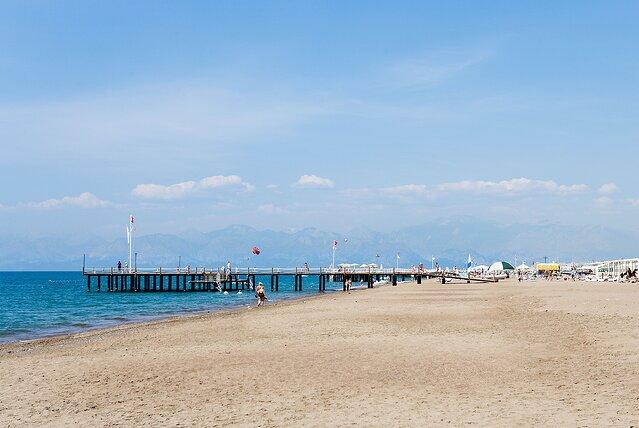 BBB40X пляж Лара, недалеко от Антальи, Средиземноморское побережье, Турция. Изображение снято в 2009 году. Точная дата неизвестна.