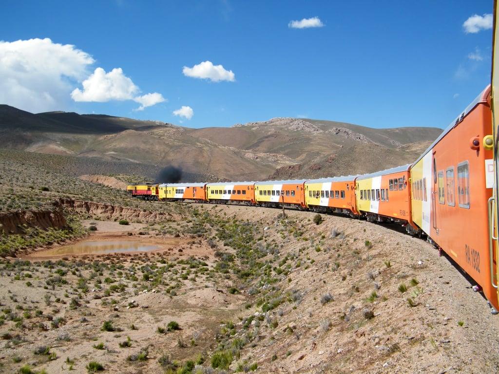 Поезд до облаков, Аргентина